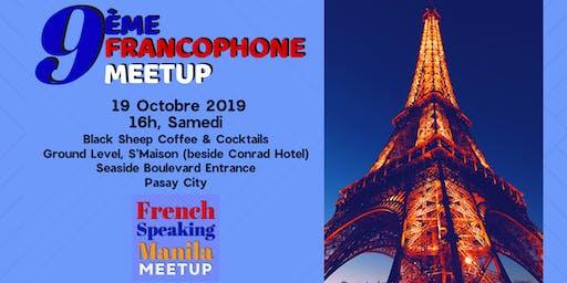 French Speaking Manila Meetup (9ème)