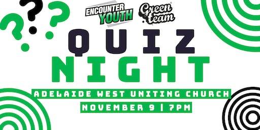 Green Team quiz night fundraiser