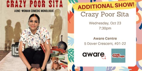 Stand Together Festival presents: Crazy Poor Sita by Sharul Channa (23 Oct) tickets
