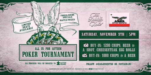 All in for Autism Poker Tournament