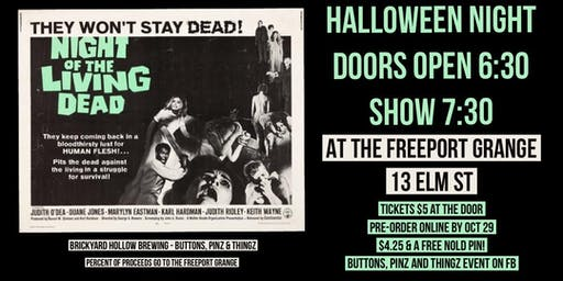 Night of the Living Dead! - Freeport Grange