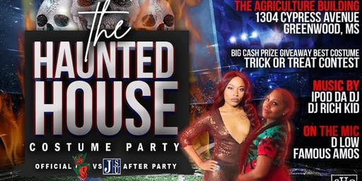 """""""The Haunted House"""" Official MVSU/JSU Costume Party"""