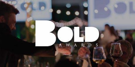 BOLD Awards 2020 biglietti