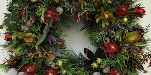 Campo de Flori Christmas Wreath Workshop