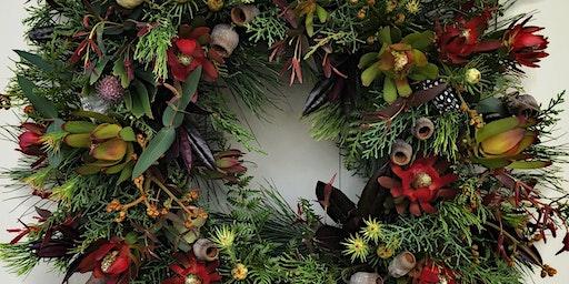 Campo de Flori Christmas Wreath Workshop