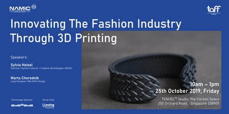 Innovating The Fashion Industry Through 3D Printing tickets