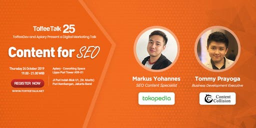 ToffeeTalk 25: Content for SEO