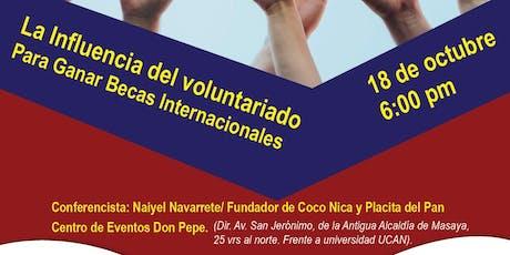 ANUSA Networking Masaya - El Voluntariado y las Becas Internacionales. tickets