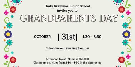 Unity Grammar's Grandparent's Day tickets
