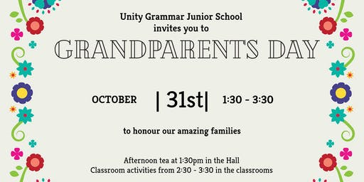 Unity Grammar's Grandparent's Day