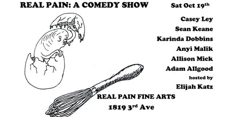 Real Pain Comedy tickets