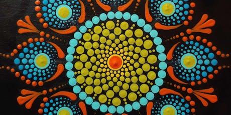 Mandalas Painting Party at Brush & Cork tickets
