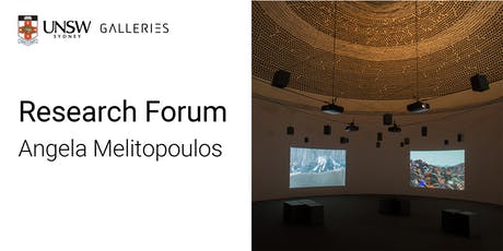 Research Forum: Angela Melitopoulos tickets