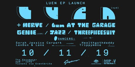 Luen EP Launch Party Melbourne tickets