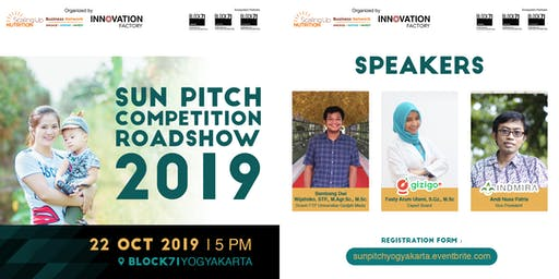 SUN Pitch Competition 2019 Roadshow - Yogyakarta