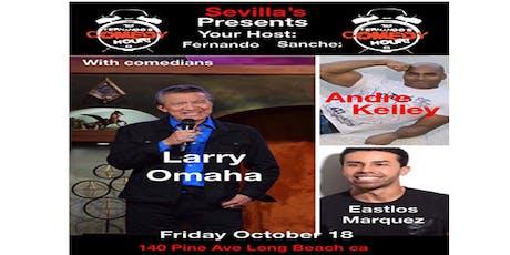 Fernando's Comedy Hour Show tickets