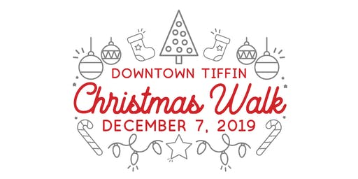 Downtown Tiffin Christmas Walk 2019