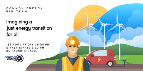 Common Energy Big Team: Imagining a just energy transition for all tickets