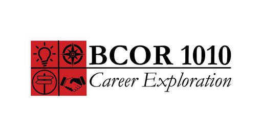 Industry & Major Exploration Sessions  -  BCOR 1010, Week 8 - MONDAY, 10/21