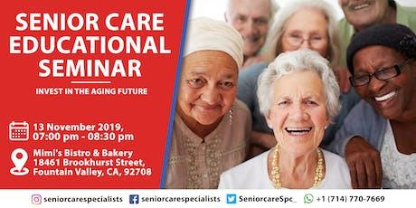 Senior Care Educational Seminar tickets