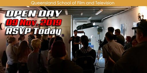 QSFT MEDIA & FILM SCHOOL OPEN DAY - Saturday, 9th November 2019