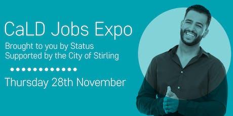 CaLD Jobs Expo tickets