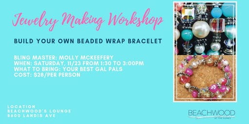 Jewelry Making Workshop: Beaded Wrap Bracelet