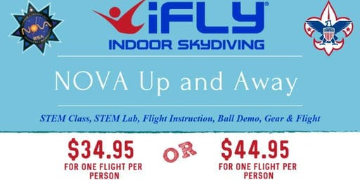 Scout iFly Up & Away STEM Event
