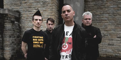 Anti-Flag with Bad Cop Bad Cop & Grumpster