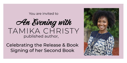 Tamika Christy Book Signing