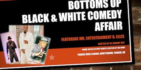 Bottoms Up Black & White Comedy Affair tickets