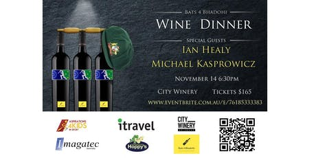 Bats 4 Bhadohi - Wine Dinner tickets