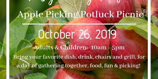 Apple Picking Potluck Picnic