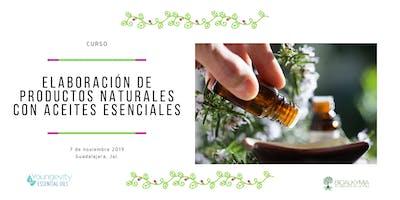 Elaboración de productos de cuidado personal con Aceites Esenciales