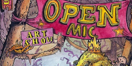 Open Mic and Pop Up Art Show
