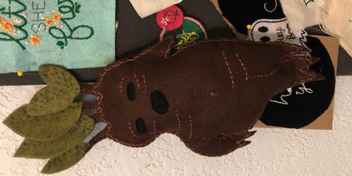 Embroider Your Own Plushies