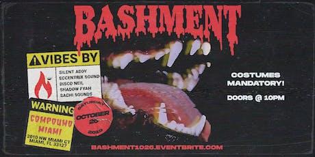 Bashment Halloween - SATURDAY 10.26.19 tickets