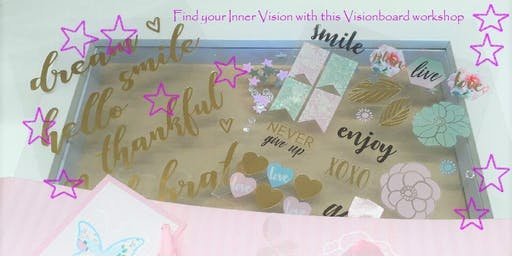 Find your Inner Vision - Vision Board Workshop with a High Tea