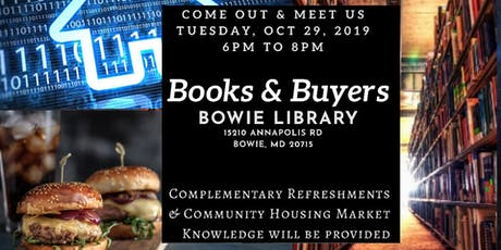 Book & Buyers @ Bowie Library tickets