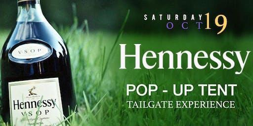 PVAMU Homecoming Hennessy Pop-Up Tent Tailgate (I Luv PVU + MSBAA)