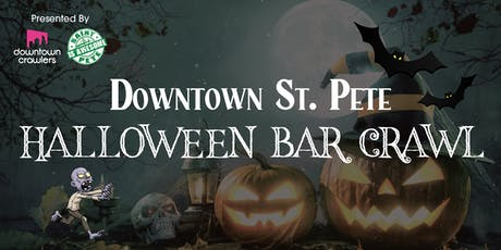 Downtown St. Pete's Halloween Bar Crawl with Novaween After Party tickets