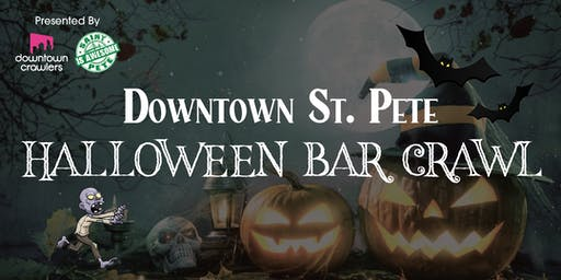Downtown St. Pete's Halloween Bar Crawl with Novaween After Party