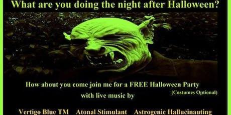 Vertigo Blue TM / Atonal Stimulant / Astrogenic Hallucinauting tickets