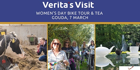 Gouda Women day's bike tour & tea tickets