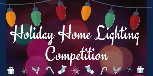 Holiday Home Lighting Competition