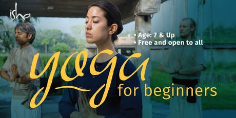 Yoga for Beginners (FREE and open to all) tickets