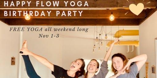 Free Yoga @ Happy Flow Yoga Fullerton