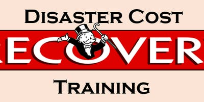 Disaster Cost Recovery Training with Mike Martinet