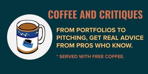Coffee and critiques: Portfolio and pitch 'speed dating' with media pros