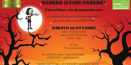 ESSERE o NON ESSERE Burattini e drammaturgia,prenota gratis,paga in sede biglietti